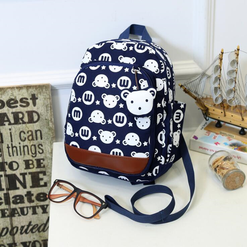 Korean School Bags For Girls 2018 Kids Bag Children Backpacks Cartoon Rabbit Kindergarte ...