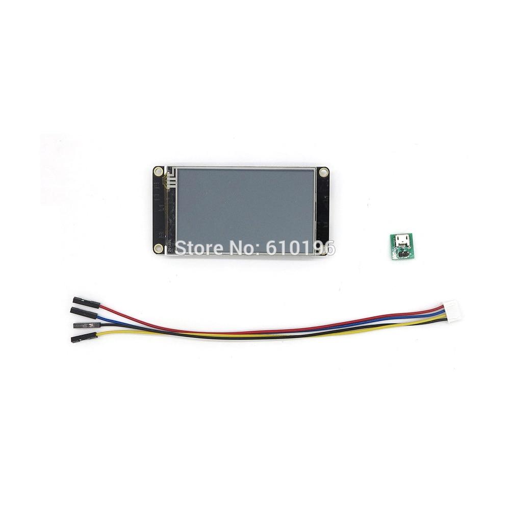 Nextionที่เพิ่มขึ้น3.2 ''HMIอัจฉริยะสมาร์ทUSART UARTอนุกรมสัมผัสTFT LCDโมดูลจอแสดงผลสำหรับA Rduinoราสเบอร์รี่Pi