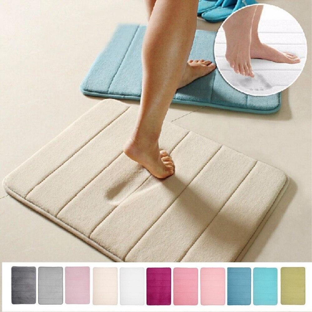 Tapis Magique Salle De Bain Gifi ~ velours corail tapis de sol paillasson tapis salle de bain cuisine