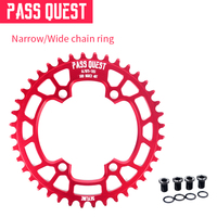 With Screws Superlight 96mm BCD 34 48T Chainwheel Plated Surface 7076 T651 Narrow Wide Design Road Bike MTB BMX Chainring