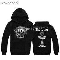 K Pop BTS Hoodies Sweatshirts Jungkook J Hope Jimin V Suga Cotton Kpop BTS Sweatshirt Moletom