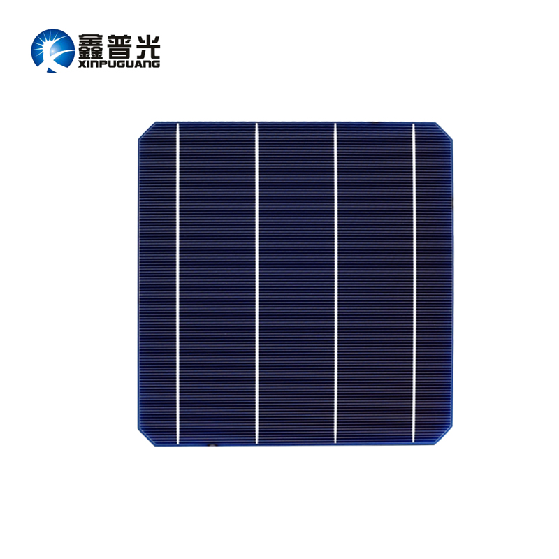 XINPUGUANG 50PCS 4.8w mono cell 156*156MM PV Photovoltaic monocrystalline Silicon DIY 240w solar panel 0.5v Grade A efficient