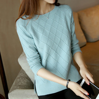 Fashion 2017 New Women Autumn Winter Sweaters High Elastic Slim Warm Tight Bottoming Sweater Women Elegant