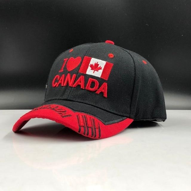 Canada Cap 3d Embroidery  2
