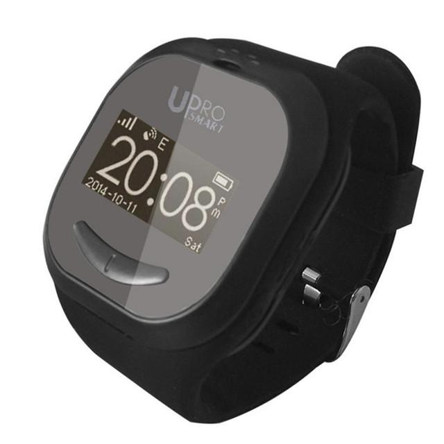 2017 Caçoa o presente Bonito do UPro P5 Localização Rastreador Monitor Remoto relógio de pulso Do Bluetooth Inteligente Relógio De Pulso GPS Relógio Criança Anti Perdido GSM