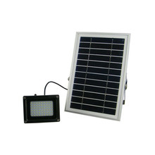 Waterproof Outdoor Solar Floodlight 54 LED Spotlight Focused Solar LED Flag Light with Hardware for Flag Poles For Wall Driveway