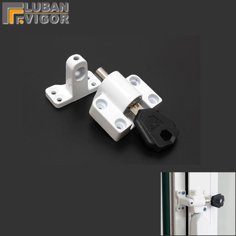 Casement Window Locks White Easy To Install Aluminum