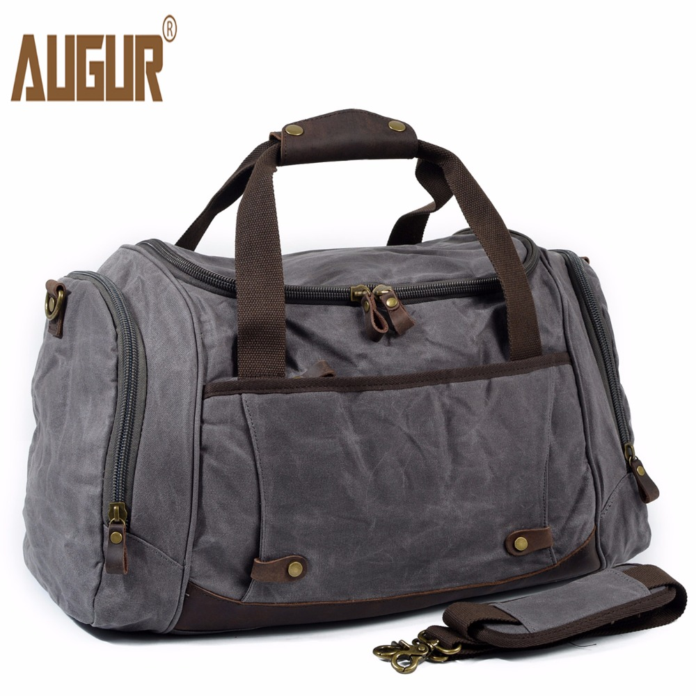 AUGUR Men Travel Bag Large Capacity shoulder Handbag Designer Male Canvas Messenger High Quality Casual Crossbody Travel bags