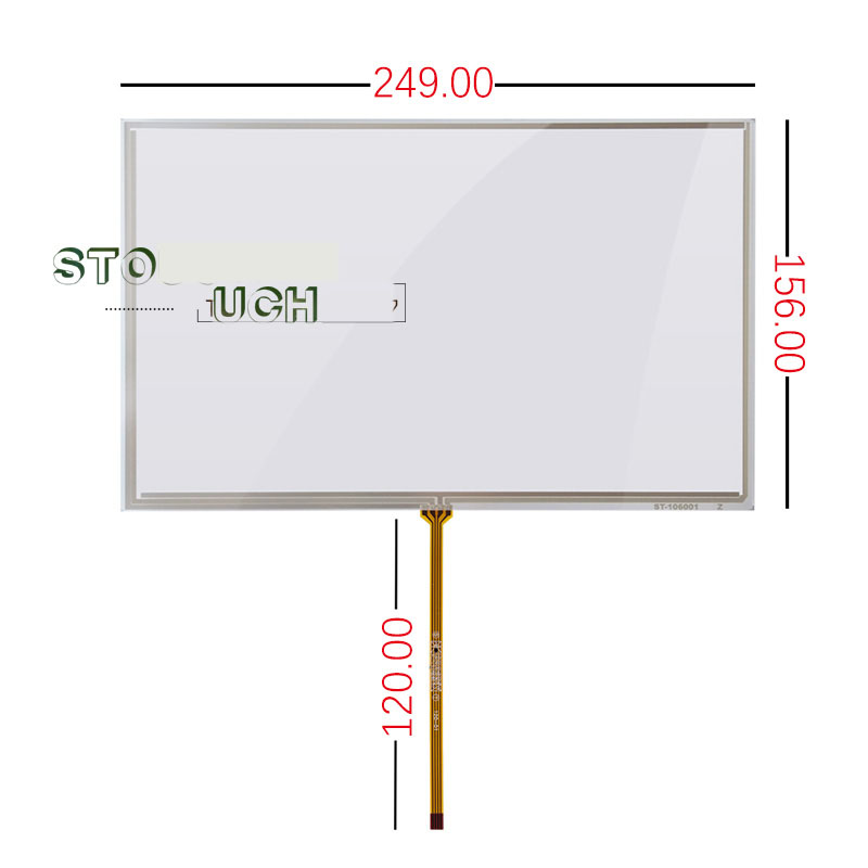 10.6 inch touch screen  AA106TA01 resistance screen touch handwriting screen 249*156 touch screen