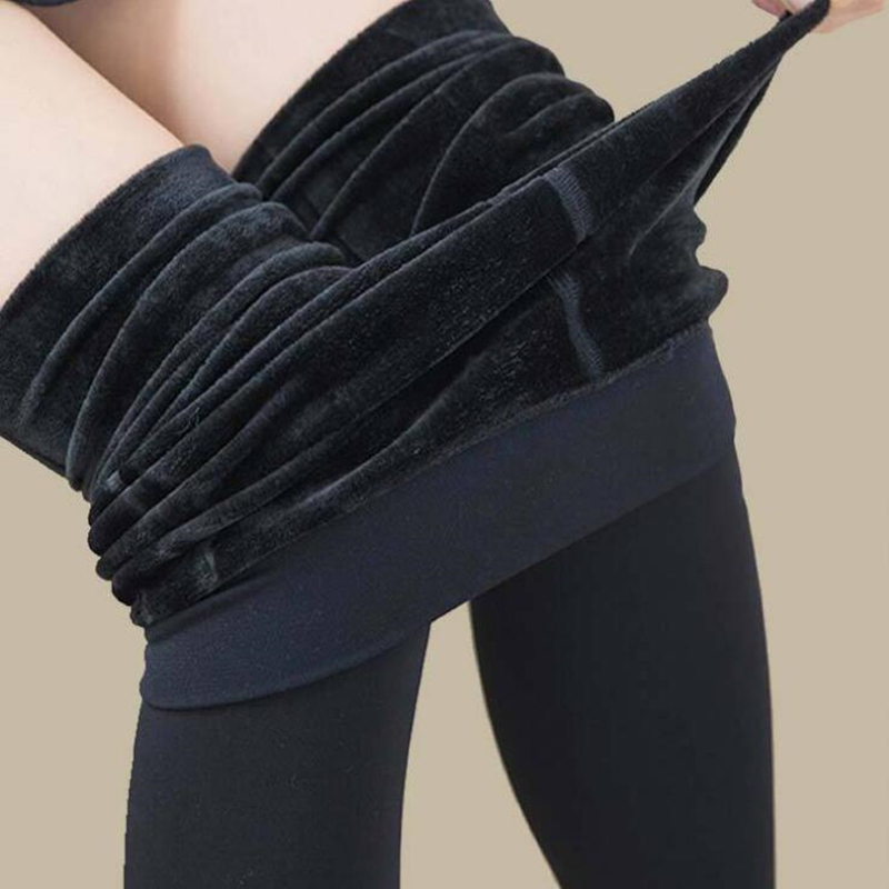 CHSDCSI Trend Knitting HOT SALE 2017 Casual winter new High elastic thicken lady s Leggings warm