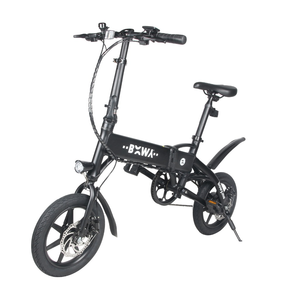Rollschuhe, Skateboards Und Roller Mini Faltrad Roller 14 Zoll Fahrrad Roller Aluminium Legierung Rahmen Im Freien Mit Speedmeter 450 W Elektro-scooter