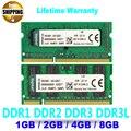 Оптовая Brand New Sealed DDR1 DDR2 DDR3 DDR3L 1 ГБ 2 ГБ 4 ГБ 8 ГБ Ram Memoria DDR Модуль Памяти SO-DIMM для Ноутбуков/ноутбук