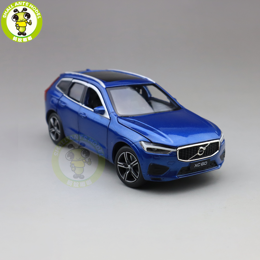 1/32 JACKIEKIM NEW Volvo XC60 Shock Absorption Diecast Model CAR SUV Toys For Kids Boy Girl Gifts