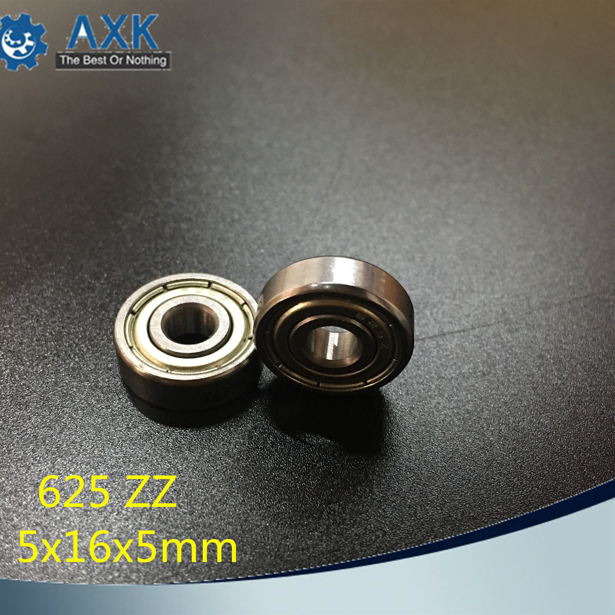 625ZZ <font><b>Bearing</b></font> <font><b>5*16*5</b></font> mm ABEC-5 ( 10 PCS ) Miniature 625Z Ball <font><b>Bearings</b></font> 625 ZZ For VORON Mobius 2/3 3D PrinterAB image