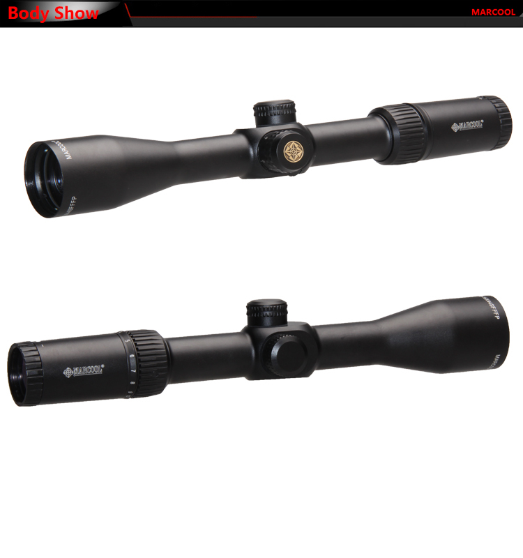 DHL FREE Marcool EVV 4 16x44 SF FFP Riflescope With font b Rangefinder b font Reticle