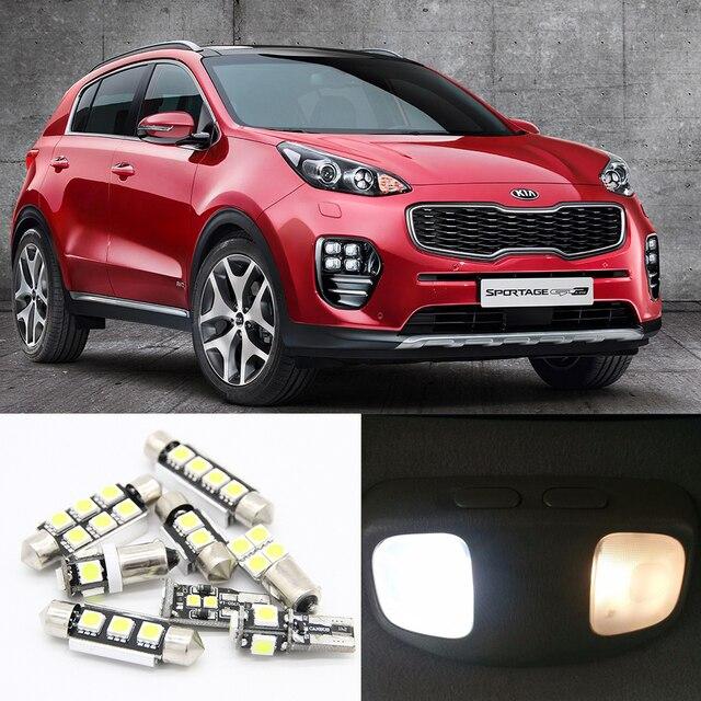 9 unids 12 v canbus coche led luz interior kit de conversi n para 2011 2016 kia sportage mapas - Poner luz interior coche ...