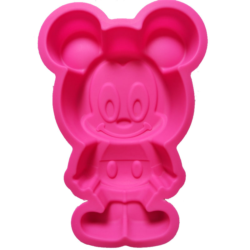 Yonghao Hot Diy Cartoon Mickey Mouse Cake Molds Silicone Mold Cake Decorating Tools Cake Mould Cute Kitchen Accessories M65 Cake Molds Kitchen,dining & Bar