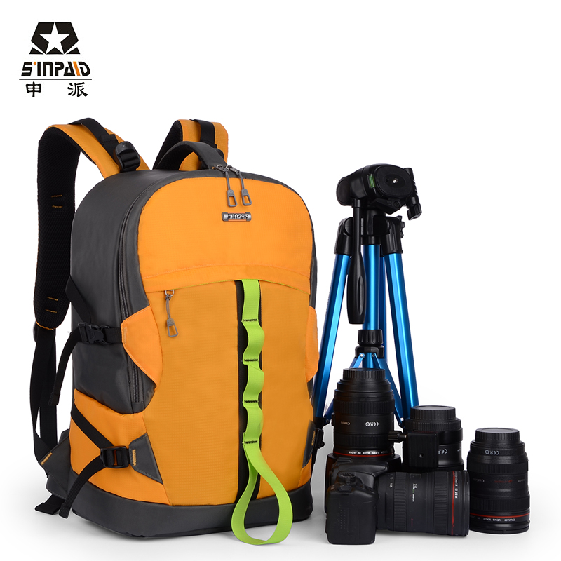 Sinpaid Backpack Travel Camera Bags, Ultra Durable Wear-resistant Waterproof Anti-theft Prevent Vibration Weight Reduction SLR