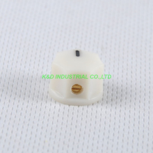 все цены на 10pcs Colorful Cream Rotary Control Plastic Potentiometer Knob Guitar Knurled Shaft Hole онлайн