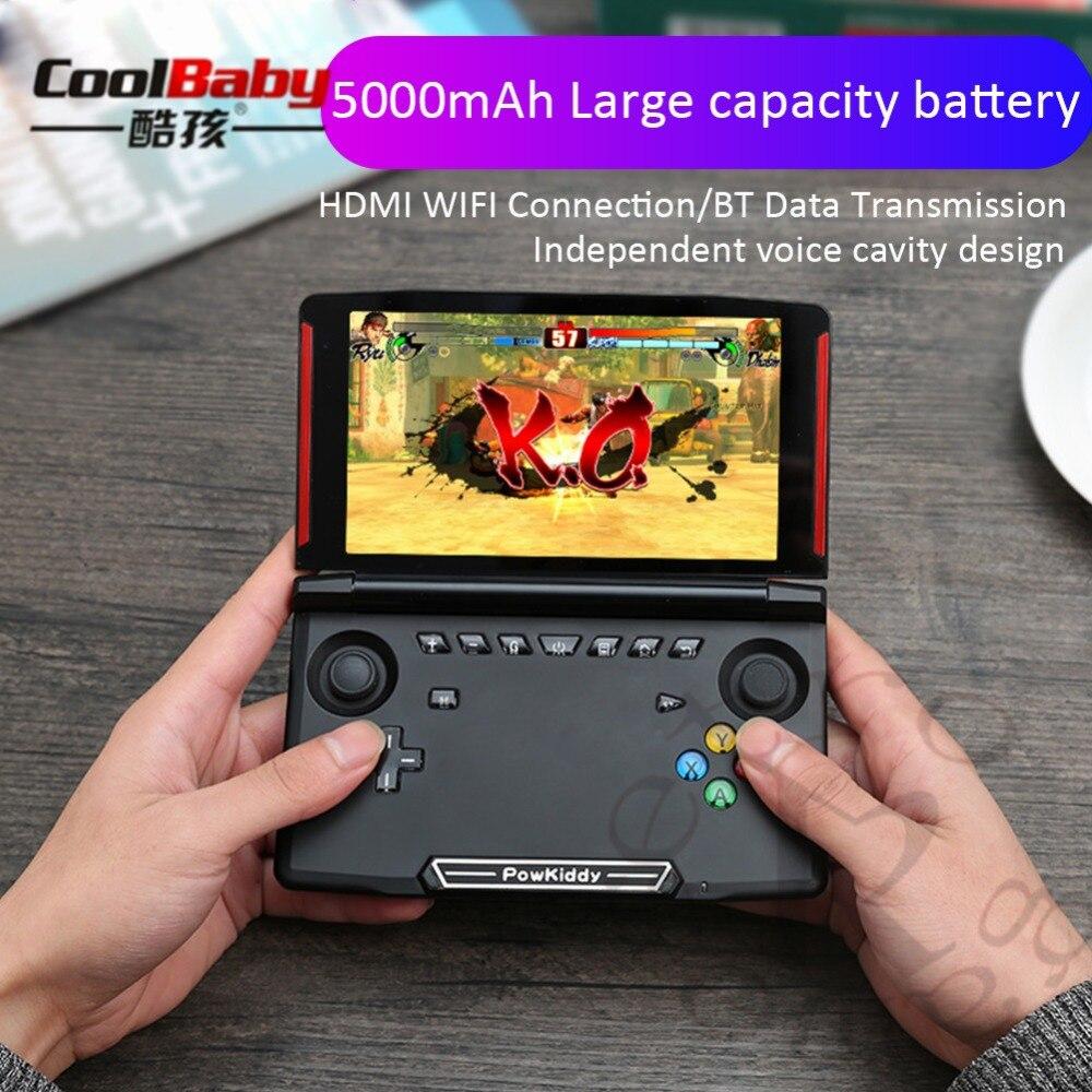 Coolbaby X18 5,5 дюймов сенсорный экран Andriod портативный игровой плеер Видео игровая консоль поддержка ПК monile игры и симулятор игры