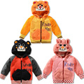 Горячие Новые Дети Детская Одежда Мальчики Девочки Прекрасный Медведь Пушистый Белый Пальто Толстый Свитер Пальто