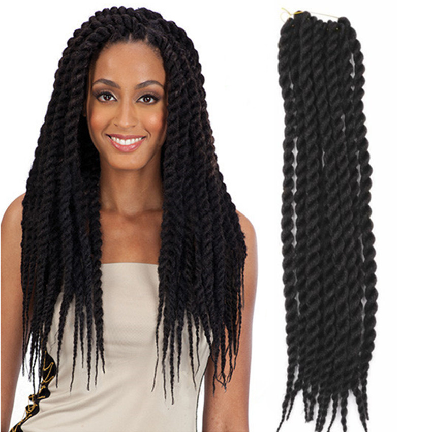 24inch twist rope braid braiding