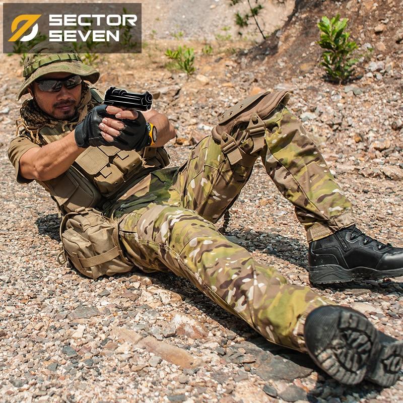 2017 nouveau IX2 Étanche camouflage tactique pantalon Jeu de Guerre pantalon Cargo hommes Pantalon pantalon militaire de L'armée Active Pants - 5