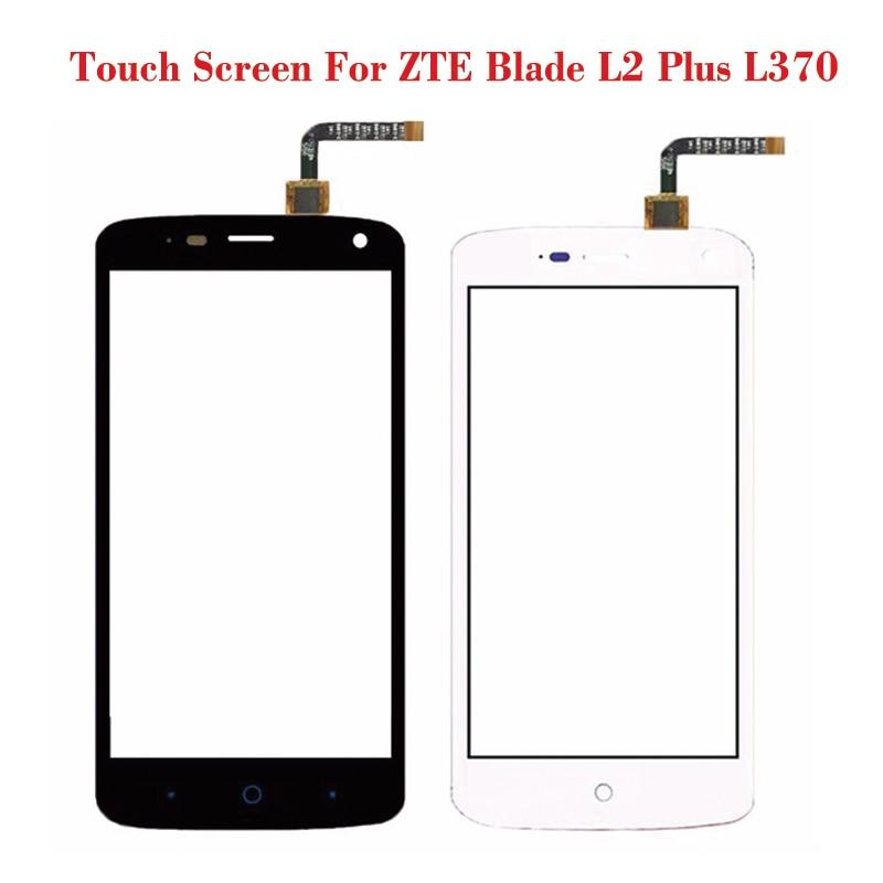 Black White Touch Screen For Zte Blade L2 Plus L370 Lens