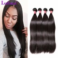 Raw Indian Hair Indian Virgin Hair Straight 4 Bundles 7A Unprocesse Straight Virgin Human Hair Weave Bundles Rosa Hair Products