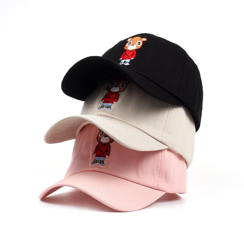 31f81c85a56 Kanye West Graduation Dropout Bear Baseball Dad Hat – phillipscomfort