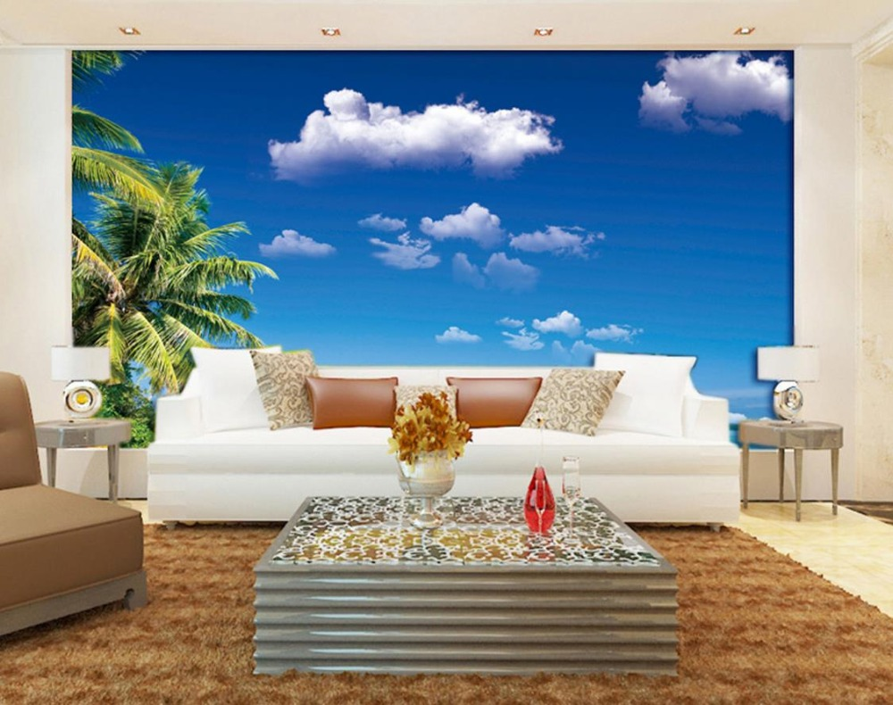 online get cheap beautiful landscape wallpapers aliexpress com custom 3d photo wall mural wallpapers for living room beach sunshine beautiful landscape wallpaper china