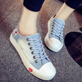 New Top Sale 2017 Autumn New Women Fashion Casual Canvas Lacing Plimsolls Sneakers Student Flat Platforms Shoes Zapatillas G158