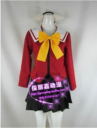 free shipping omamori himari cosplay himari noihara costume halloween costume - Partyland Halloween Costumes
