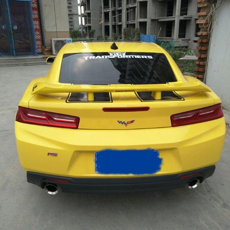 For Chevrolet Camaro Bumblebee spoiler 10-15 ABS materialFor Chevrolet Camaro Bumblebee spoiler 10-15 ABS material