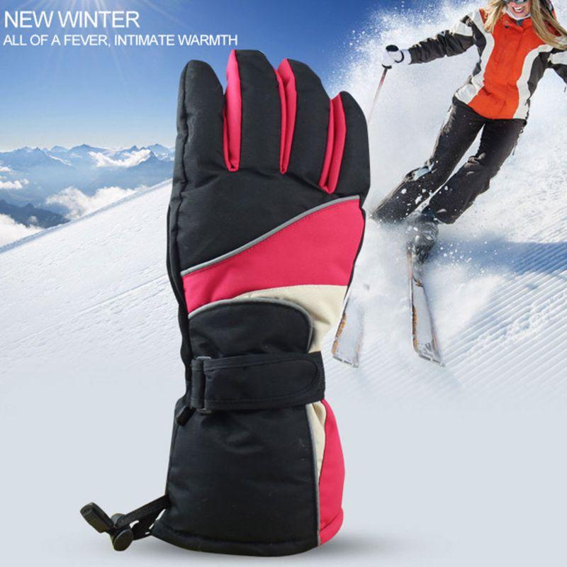 Hommes batterie alimenté Rechargeable électrique chauffé gants femmes étanche isolé hiver plus chaud en plein air Camping randonnée ski