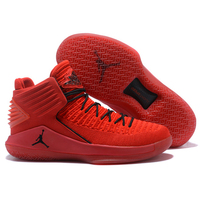 Jordan Air Retro 32 Men Basketball Shoes Rosso Corsa Crack Flights Speed Athletic Outdoor Sport Sneakers