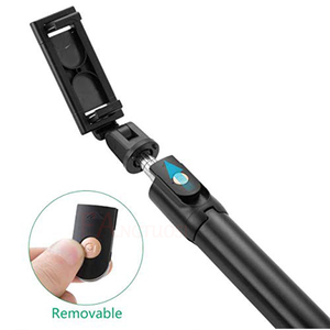 Image 2 - FANGTUOSI 3 in 1 Wireless bluetooth Selfie Stick Mini Tripod Extendable Monopod Universal Pau De Palo For iPhone XR X 7 6s Plus