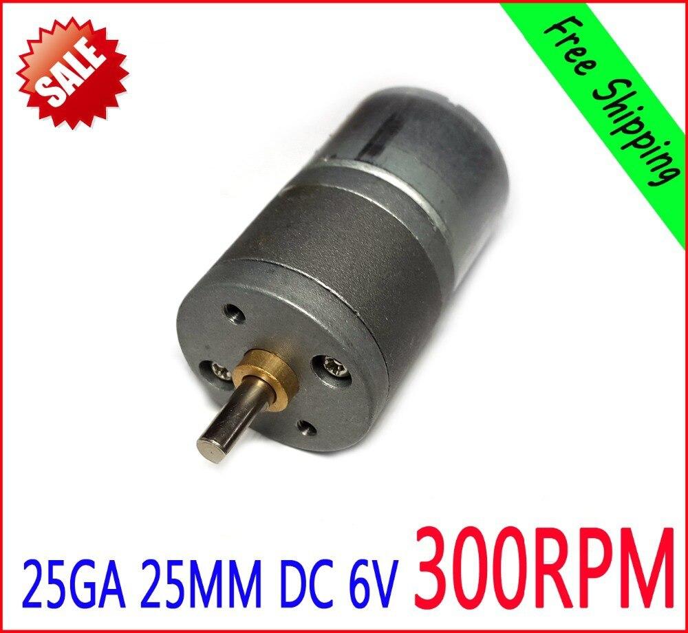300RPM DC 6v Motor  NEW 25MM 25GA  65mA High Torque Electric Gear Box Motor300RPM DC 6v Motor  NEW 25MM 25GA  65mA High Torque Electric Gear Box Motor