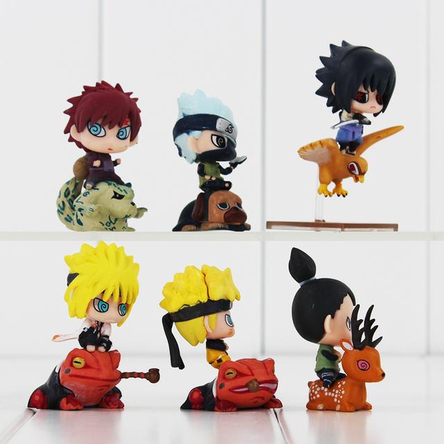 6Pcs New Hot Japanese Anime Naruto Figure