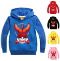 New Pokemon Costumes for Boys&Girls Kids Coats Boys Hoodies Sweatshirts Hoody for Boy Pokemon Go Jacket Cartoon Child Jackets 5