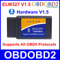 Hardware V1.5 ELM327 Bluetooth OBD2 ELM 327 Support All OBDII Protocols Auto Diagnostic Tool For Multi Brand Cars Code Scanner