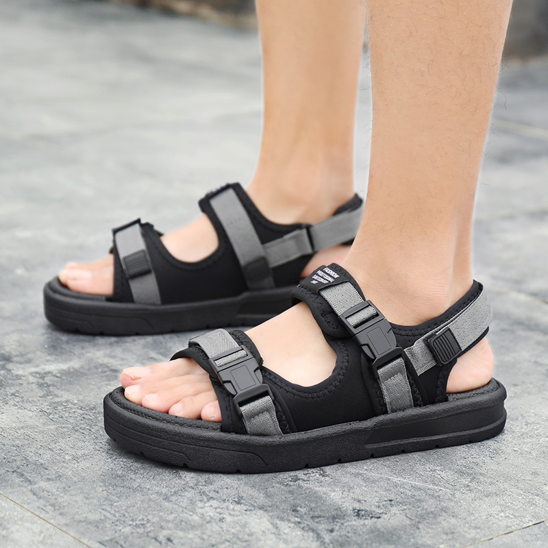 GUDERIAN <font><b>Men</b></font> Beach <font><b>Sandals</b></font> <font><b>Fashion</b></font> <font><b>Summer</b></font> <font><b>Sandals</b></font> For <font><b>Men</b></font> <font><b>Outdoor</b></font> <font><b>Men</b></font> Gladiator <font><b>Sandals</b></font> Casual Shoes Flip Flops Zandalias Hombre image