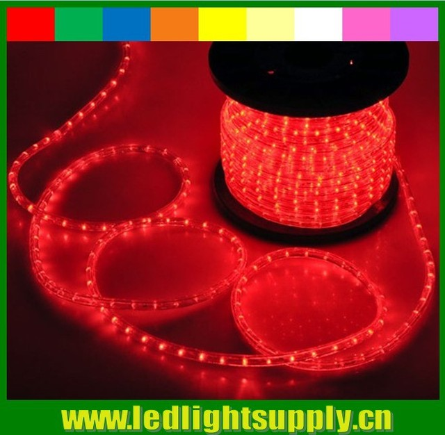50meter 110V/220V round rope light 164 feet 12mm 2 wire led strip light Christmas & 50meter 110V/220V round rope light 164 feet 12mm 2 wire led strip ...