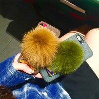 Оптовая продажа 3D Мода и Роскошные наручные пояса мобильный телефон Корпус для iphone6 6 S 6 Plus лиса защитное В виде ракушки Coque принципиально сза...
