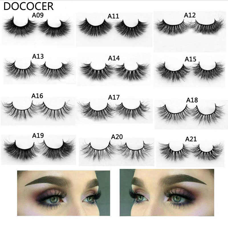 cc53859ffe8 1 pair 3D Handmade Mink Eyelashes individual Natural False Eyelashes for  Beauty Makeup fake Eye Lashes