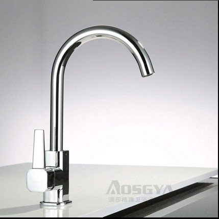 Copper Planted Kitchen Faucet Hot and Cold Vegetables Basin Mixer Tap