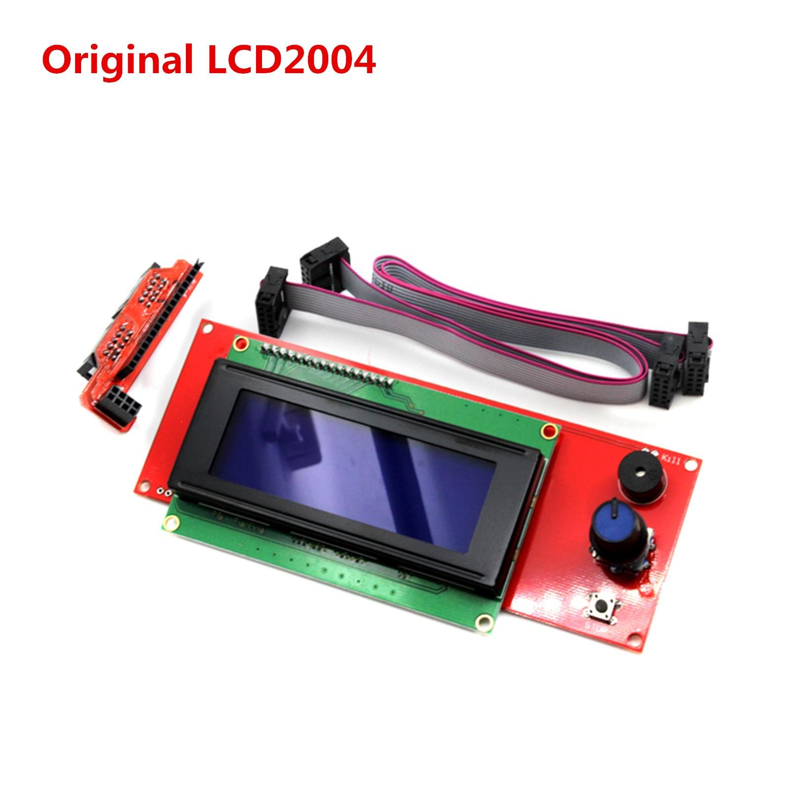 LCD2004 3D printer lcds display module original LCD 2004 screen Ramps 1 4 LCD panel good