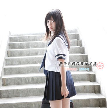 New arrival <font><b>japanese</b></font> <font><b>school</b></font> <font><b>uniform</b></font> girls class service sailor suits for <font><b>sexy</b></font> girls image