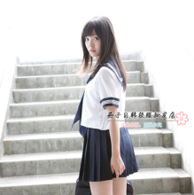 New arrival japanese school uniform girls class service sailor suits for sexy
