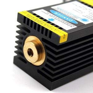 Image 5 - Oxlasers yüksek güç 12V 3PIN 15W 15000mW mavi lazer kafası DIY lazer gravür ve CNC kesim lazer modülü ücretsiz kargo